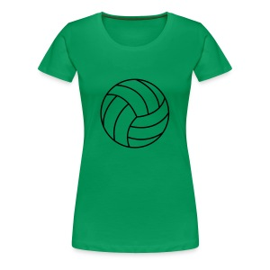 Volleyball T-skjorter - Premium T-skjorte for kvinner