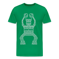 T-Shirts ~ Men's Premium T-Shirt ~ PCB Robot