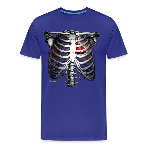 Rib cage Men's classic T-Shirt - Men's Premium T-Shirt