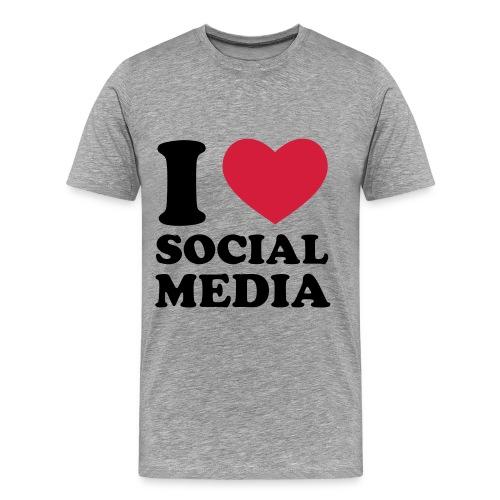 Social Media Männer - Männer Premium T-Shirt