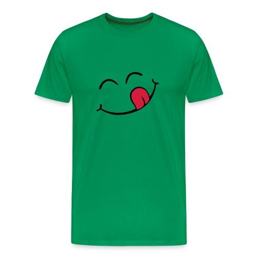 Happy tongue - Mannen Premium T-shirt