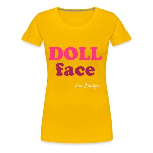Doll Face - Women's Premium T-Shirt