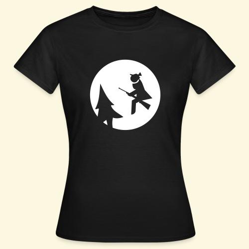 Jägerin Shirt Jagdhexe auf Tour *NEU* - Frauen T-Shirt