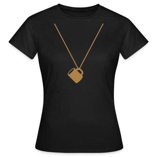schnapsglas am band | frauen t-shirt | für grünkohl, kohlfahrt und junggesellenabschied - Frauen T-Shirt