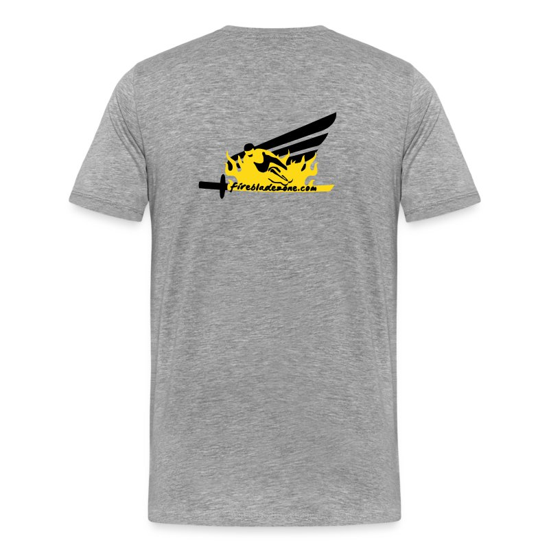 T-shirt - Logo Fireblade Zone - Coloris au choix - T-shirt Premium Homme