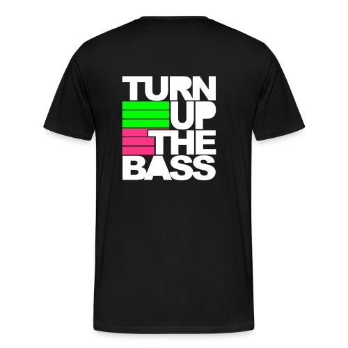 Turn Up Te Bass T-shirt Mannen - Mannen Premium T-shirt