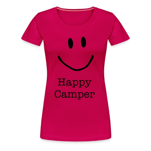 Happy Camper woman - Frauen Premium T-Shirt