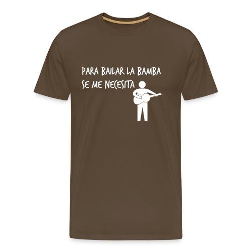 Para bailar la bamba White - Camiseta premium hombre