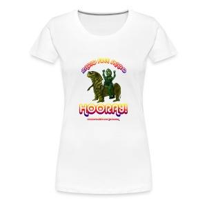 Hooray! (Plus Size T-Shirt) - Women's Premium T-Shirt
