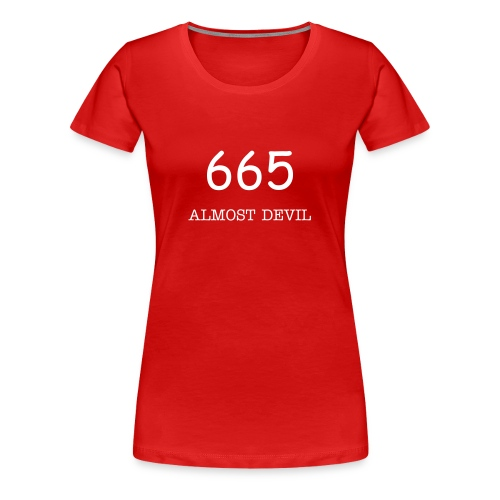 Almost Devil 665 - Frauen Premium T-Shirt