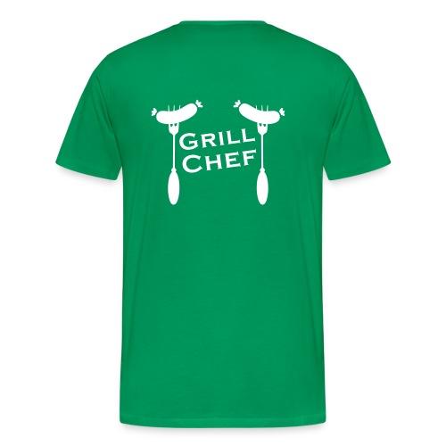 Kapuzen-Pulli EG - Männer Premium T-Shirt