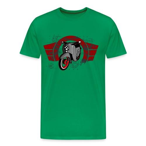 Schwalbe T-Shirt Design Nr. 6/2 - Männer Premium T-Shirt