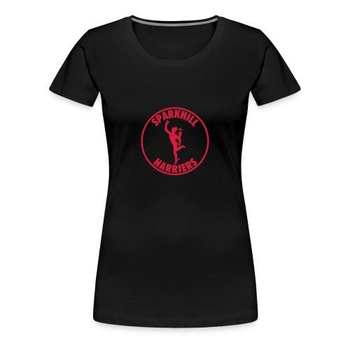 SPARKHILL WOMENS TSHIRT - BLACK - Women's Premium T-Shirt