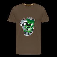 T-Shirts ~ Männer Premium T-Shirt ~ T-Shirt Mr. Raccooni