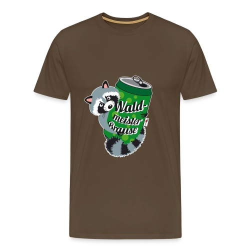 T-Shirt Mr. Raccooni - Männer Premium T-Shirt