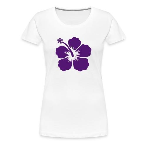 flower - Vrouwen Premium T-shirt