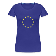 T-shirts ~ Vrouwen Premium T-shirt ~ Europese Unie