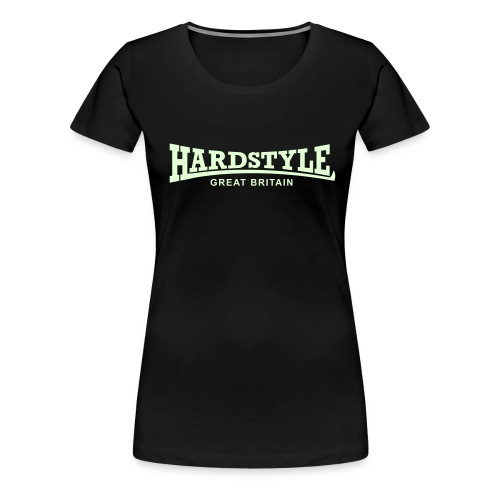 Hardstyle Great Britain - Glow in the dark - Women's Premium T-Shirt