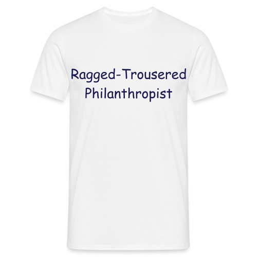 Ragged-Trousered Classic - Men's T-Shirt