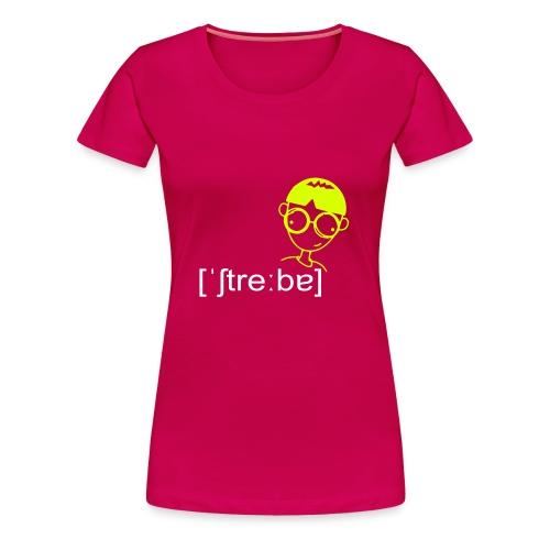 Streber - Frauen Premium T-Shirt