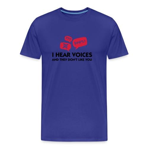 Voices - Men's Premium T-Shirt