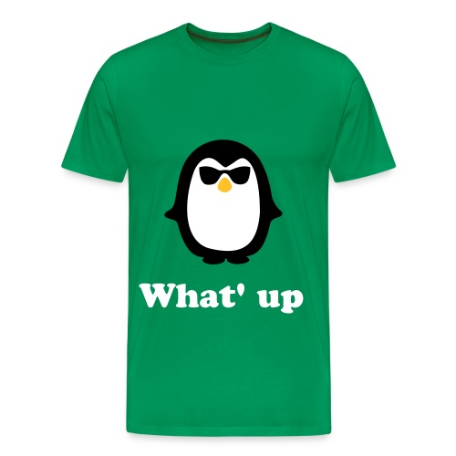 What' up - Mannen Premium T-shirt