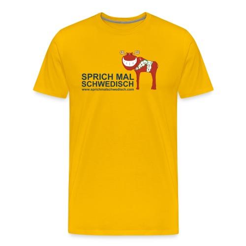 (Motiv Vorn) - Männer Premium T-Shirt
