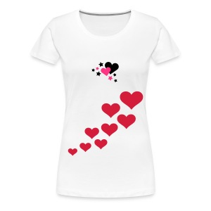 Love Shirt - Frauen Premium T-Shirt