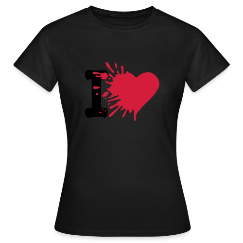 i love - T-shirt Femme