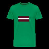 T-shirts ~ Mannen Premium T-shirt ~ Letland
