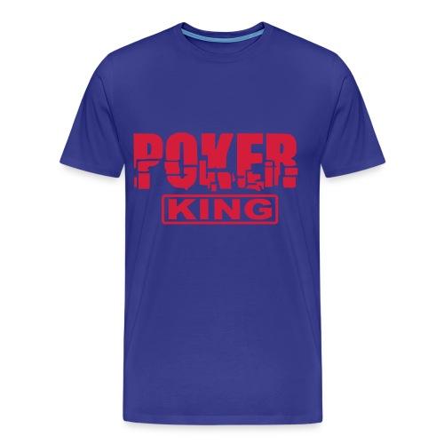 Poker King - T-shirt Premium Homme