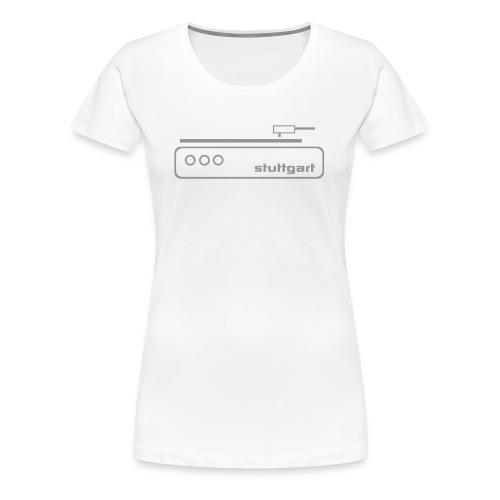 Stuttgart Music T-Shirt  - Frauen Premium T-Shirt