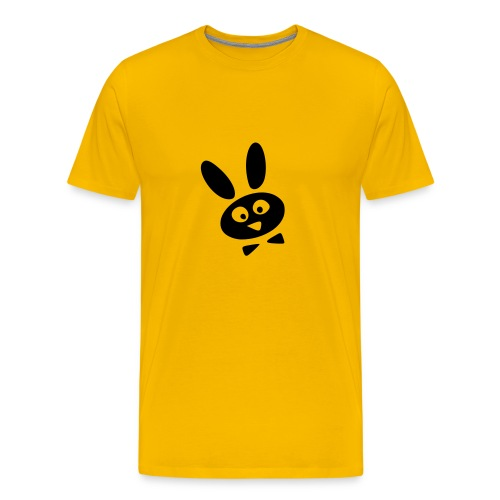 Kaninchenkopf - Männer Premium T-Shirt