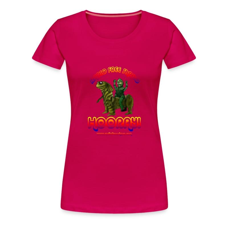 Hooray! (T-Shirt) - Women's Premium T-Shirt