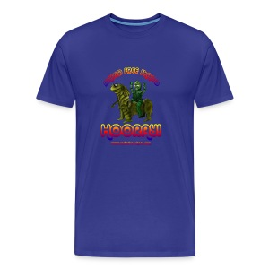 Hooray! (T-Shirt) - Men's Premium T-Shirt