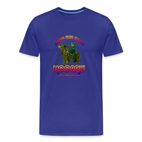 Hooray! (T-Shirt) - Men's Premium T-Shirt