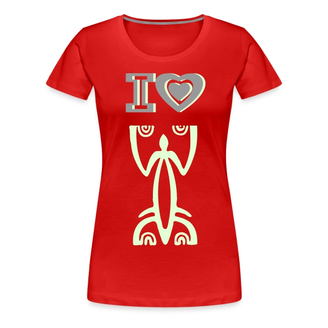 I LOVE TATTOO T-SHIRT