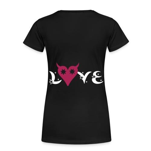 T-shirt val's love - T-shirt Premium Femme