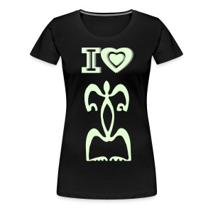 I LOVE TATTOO T-SHIRT - Women's Premium T-Shirt