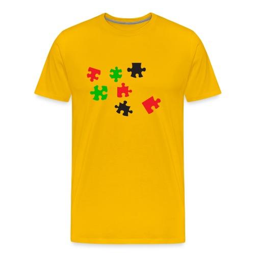 Er ontbreekt een stukje - mannen - Mannen Premium T-shirt
