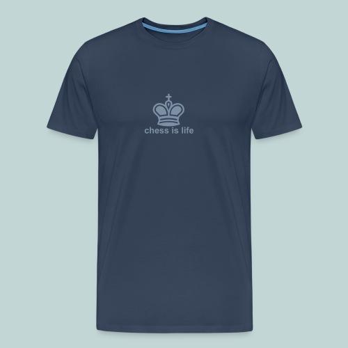 chess is life 1 - Männer Premium T-Shirt
