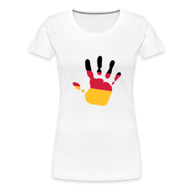 handprint german flag 3c T-Shirts