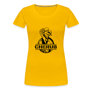 T-Shirts ~ Women's Premium T-Shirt ~ Cherub Campus - Womens Multi-colour T-Shirt