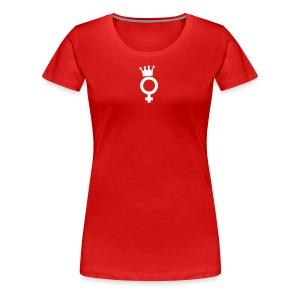 Drama Queen White Logo - T-Shirt - Frauen Premium T-Shirt