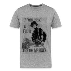 If You Want To Fight - Männer Premium T-Shirt