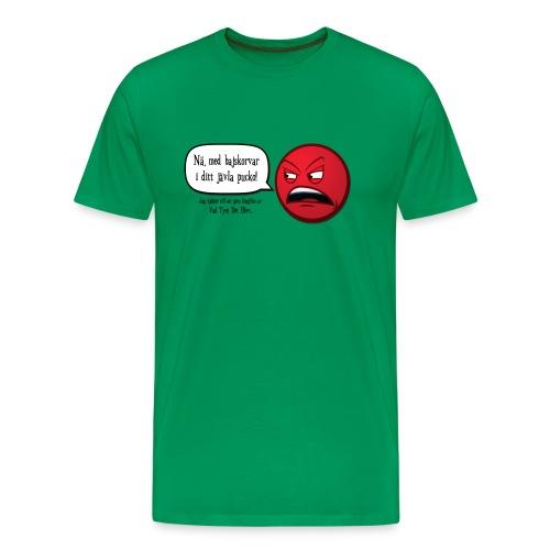 Bajskorvar - Premium-T-shirt herr