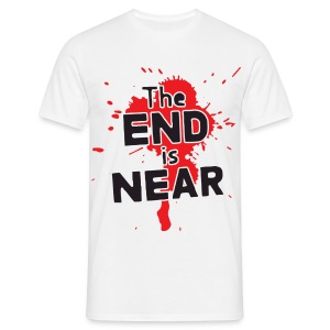 The End Is Near - Männer T-Shirt
