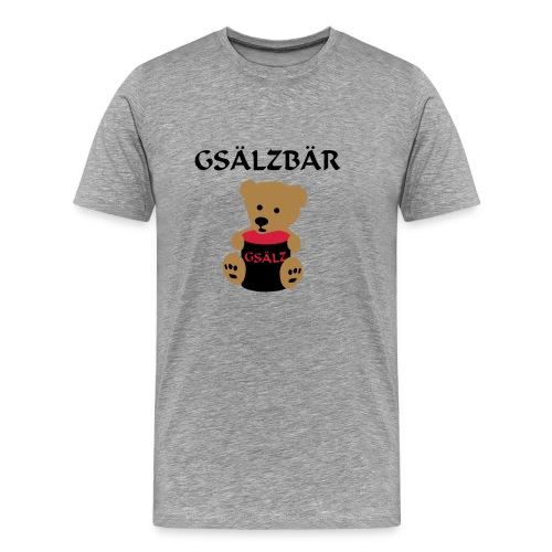 Gsälzbär - Männer Premium T-Shirt