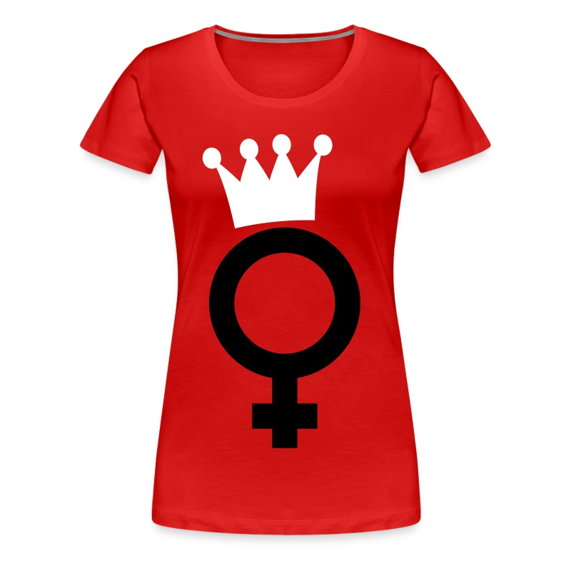 Drama-Queen Big Logo - T-Shirt - Frauen Premium T-Shirt