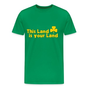 This Land is Your Land - Men's Premium T-Shirt